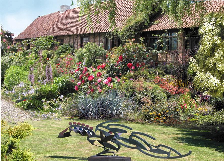 Sculptures et jardin for Statue jardin pas cher